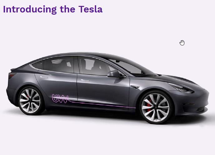 Utility Warehouse Tesla
