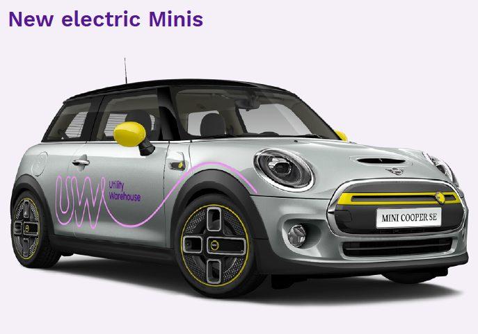 Utility Warehouse electric mini 2021